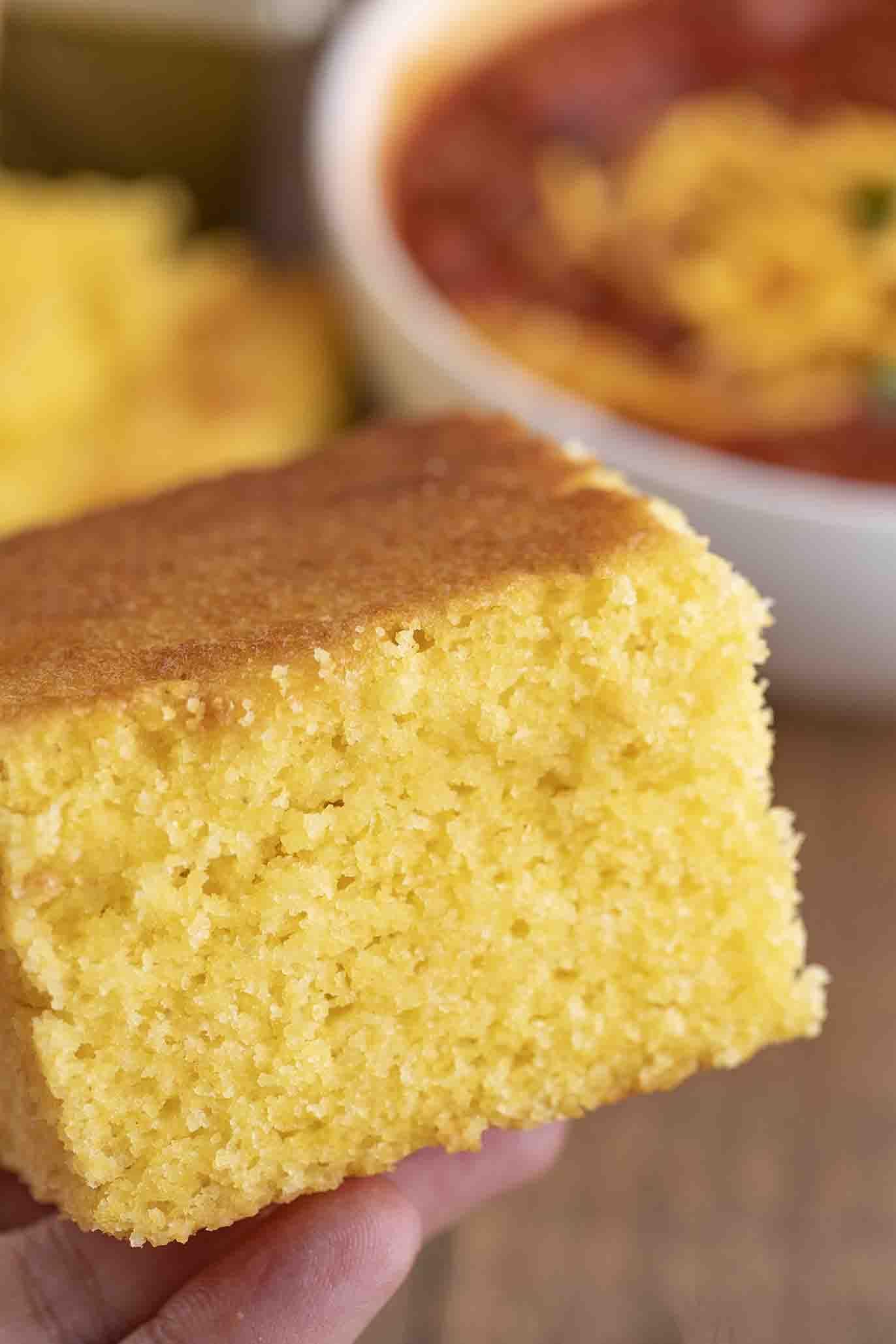 Ultimate Cornbread Delicious I Used Buttermilk Instead Of Milk Johnny Cakes Recipe Butter Cake Recipe Cake Recipes
