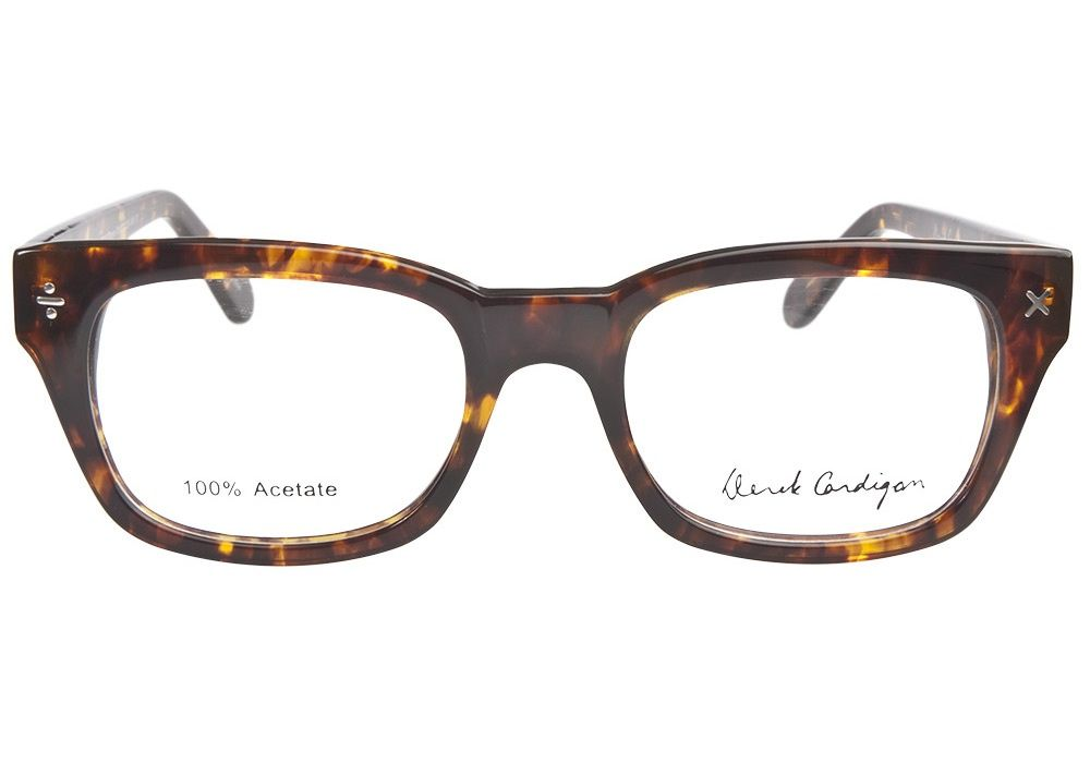 5b812d92c18 Derek Cardigan 7014 Brown Tortoiseshell eyeglasses. Get low prices