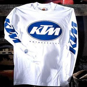 Metro Vintage Ktm Racing Jerseys Competition Accessories Ktm Vintage Jerseys Long Sleeve Tshirt Men