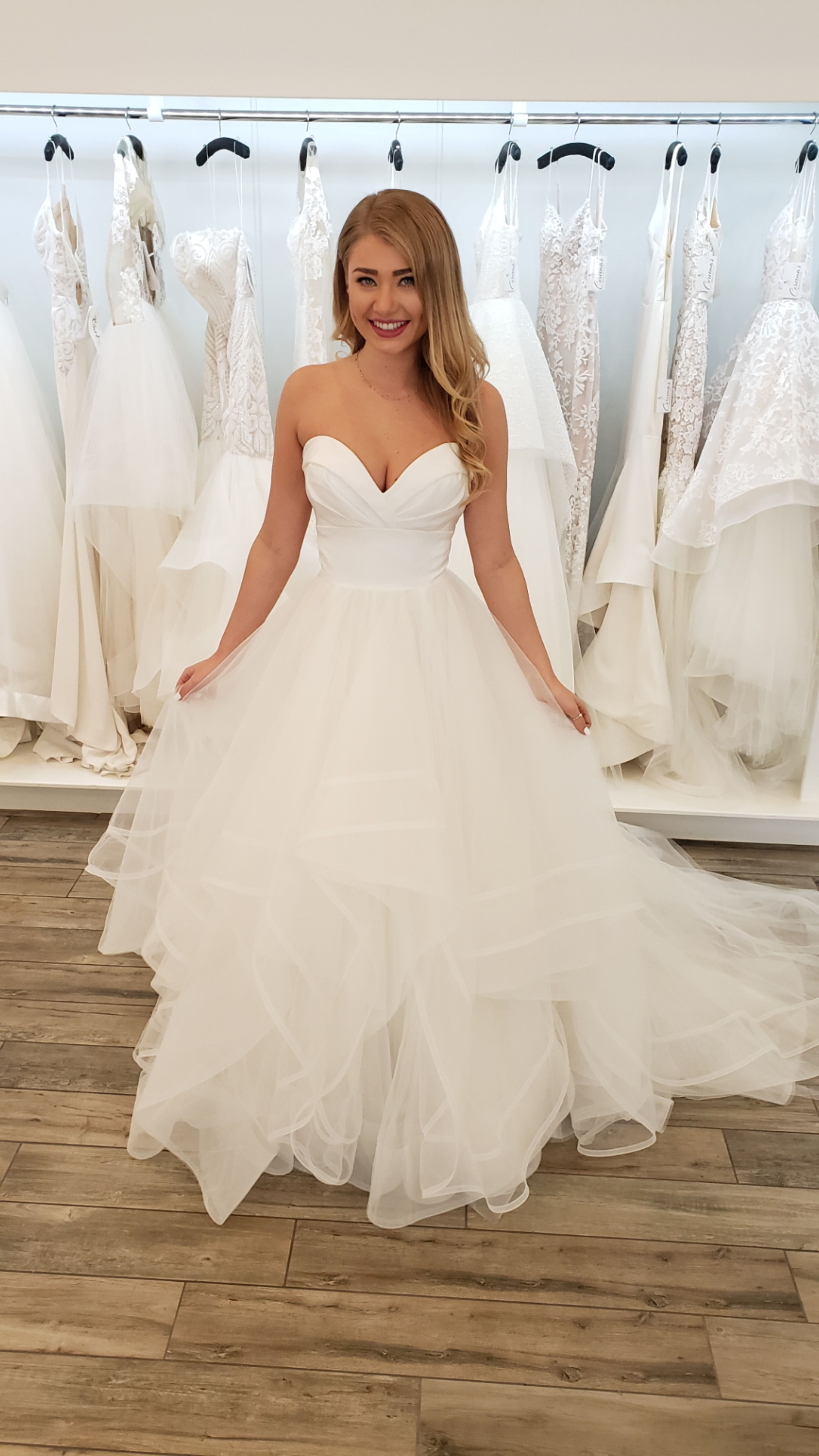 Loretta Princess Ball Gowns Strapless Wedding Dress Ballgown Ball Gown Wedding Dress [ 7168 x 4032 Pixel ]