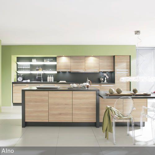 Grüne Wandfarbe für die Küche Siding colors