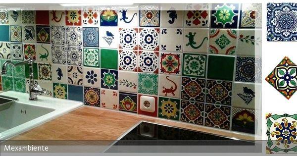 Küchenrückwand \u2013 Alu-Dibond \u2013 Orientalische Kacheln 01