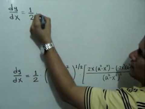 Derivada de una función utilizando la Regla de la Cadena para ...
