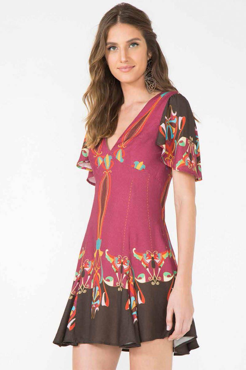 Vestido Farm - 17409677 | enjoei :p | Roupas | Pinterest