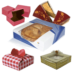 Pie Boxes TheCustomBoxes.com offers an array of customizations for pie boxes. You can have them printed in favored shapes, sizes and colors. Customize your boxes with funky color themes and images to make them more attention grabbing for the consumers.  Make your scrumptious pies more delightful with custom packaging boxes that serve as an insignia of your food business.