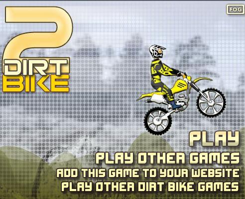 """Play """"Dirt Bike 2"""" at"""