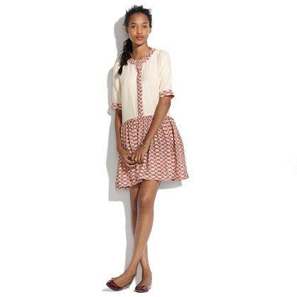 Madewell Rachel Antonoff Jack Combo Dress