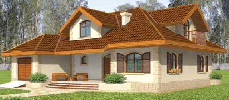 Plano de casa grande de mas de 200 m2 habitables sueño