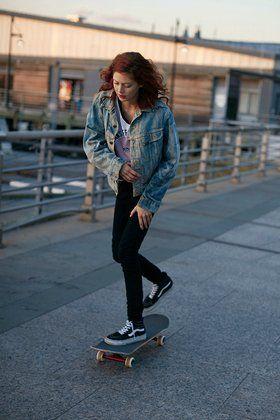 ac3cb72b370 Natalie Westling Is Modeling s Original Skater Girl and She Has the Vans…