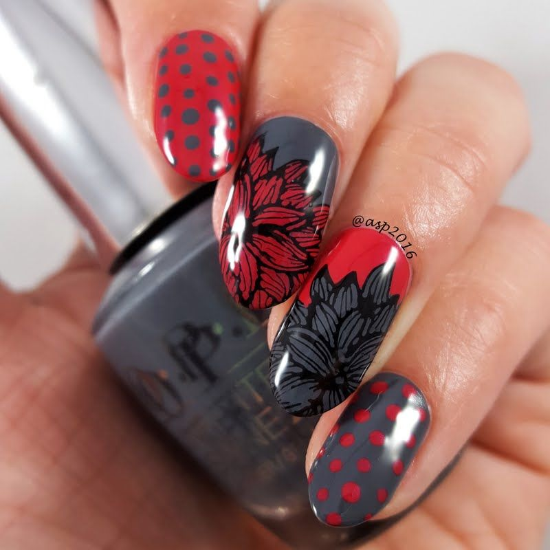 Have a brush with fame in this strikingly gorgeous mani created by ...