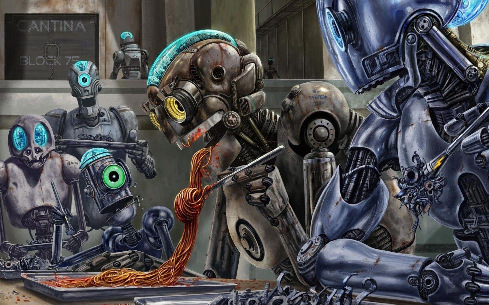 Wallpaper Hd Robot Fondos De Pantalla Escritorio Fondos De Pantalla Hd Y Fondos De Pantalla