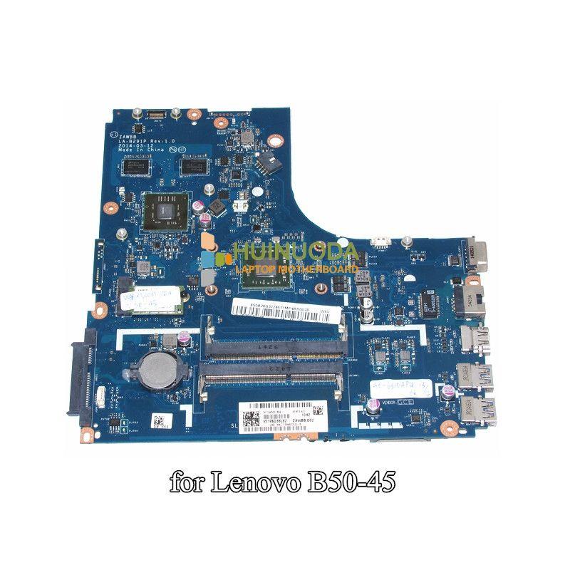 Zawbb La B291p Laptop Motherboard For Lenovo N50 45 A6 6310 Cpu Ati 8500m R4 Graphics Ddr3 Mainboard Laptop Motherboard Motherboard Lenovo
