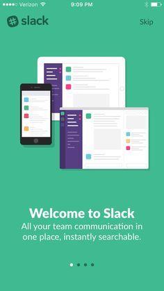 Slack Team Communication Pttrns Mobile design