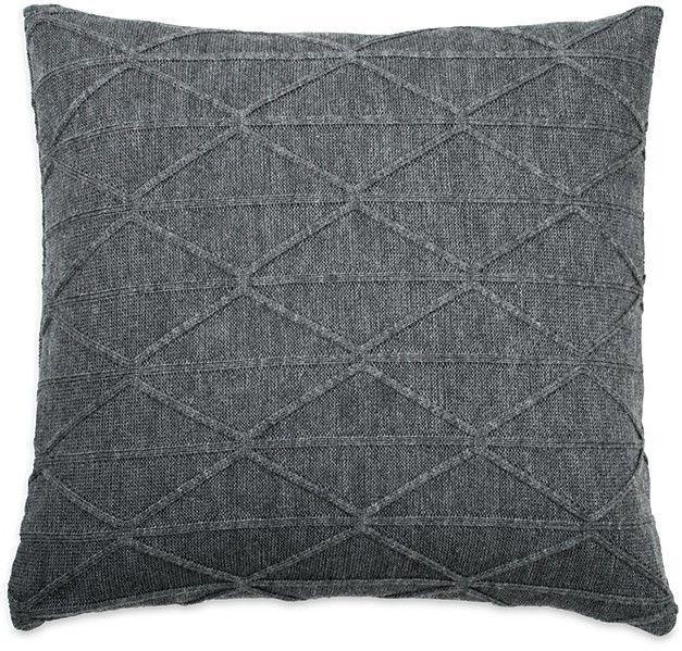 DKNY City Pleat Knit Decorative Pillow 40 X 40 Products Interesting Dkny Decorative Pillows