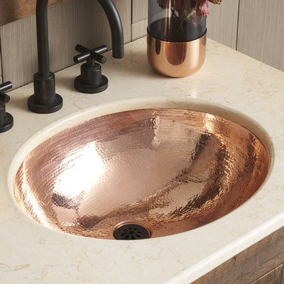 Photo of Native Trails Classic Metal Oval Undermount Sink | Way Fair