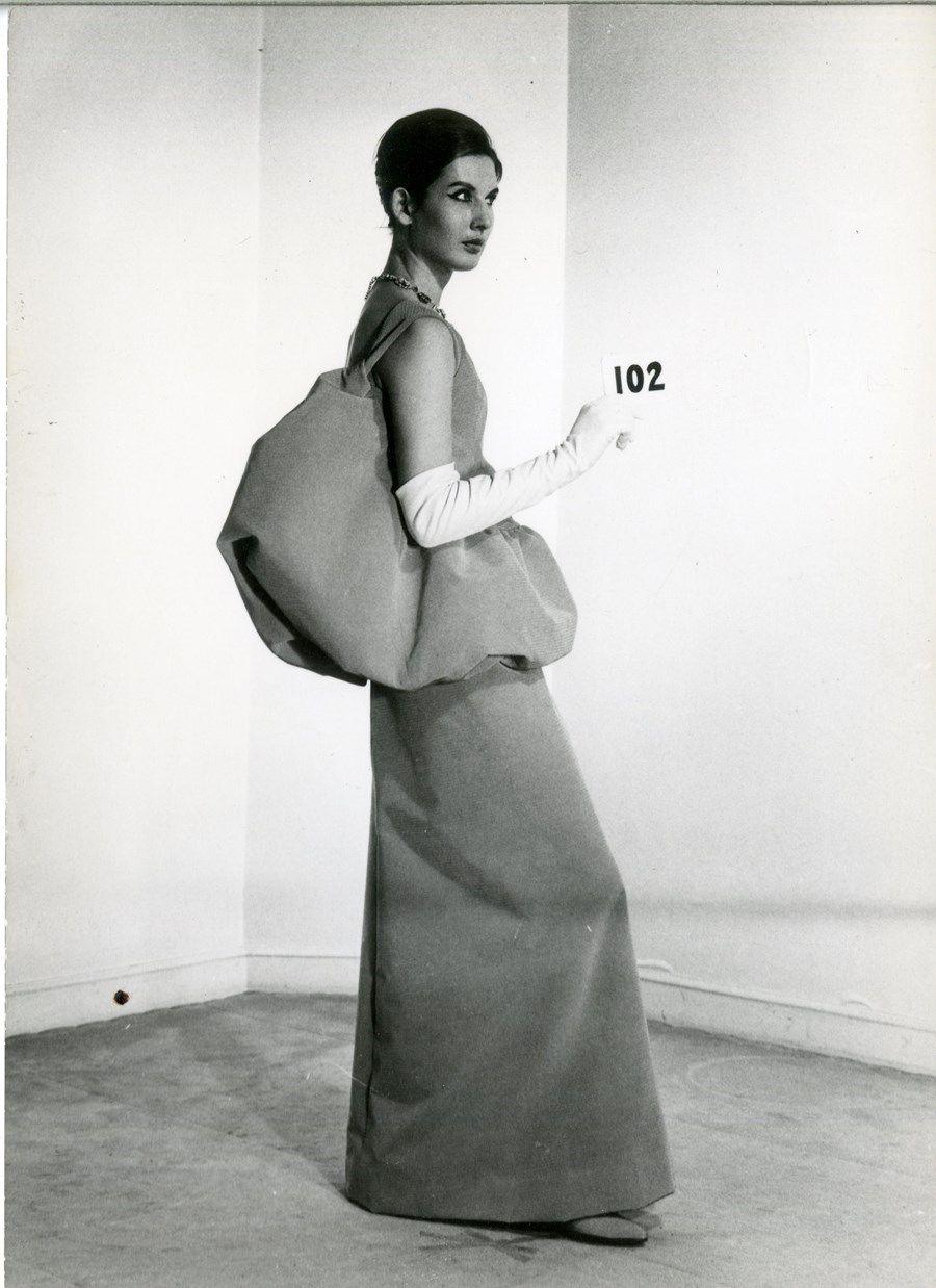 1d28bf959c The Evolution of Balenciaga's Hero Silhouette   fashion history ...