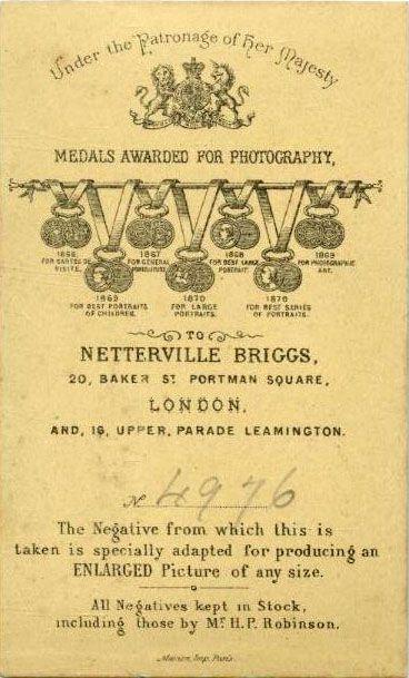 NETTERVILLE BRIGGS - Londres UK (ebay.es)