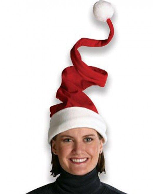 Cool and Unique Santa Hats | Santa hat, Spiral and Christmas holidays
