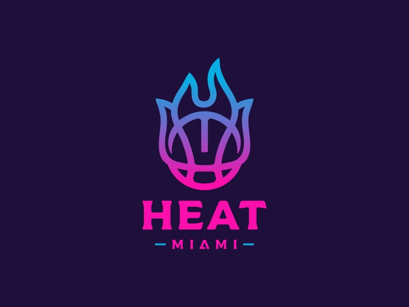 Miami Heat Logo Design In 2020 Miami Heat Logo Miami Heat Nba Miami Heat