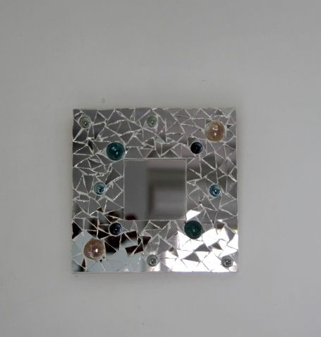 Promotion miroir mosaique lilie crea cr ations lilie for Mosaique miroir