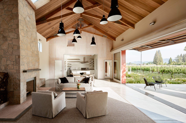 Napa Barn by anderson architects   Saint helena, Barn and Modern