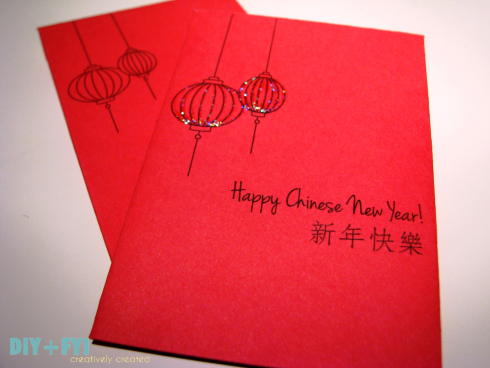 Diy Chinese New Year Red Envelope Printable Chinese New Year Card Chinese New Year Crafts Chinese New Year