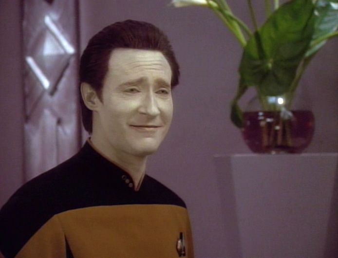 Data, android of many faces | Star trek funny, Star trek data, Star trek  generations