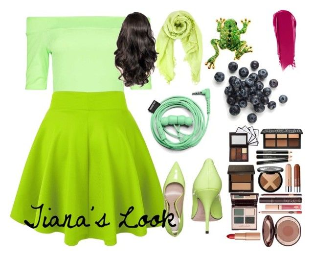 """""""The Princess and the Frog © Tiana's Look"""" by tayswifty13 ❤ liked on Polyvore"""