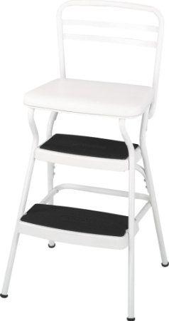 Cosco 11-130WHT Chair/Step Stool, White - Amazon.com