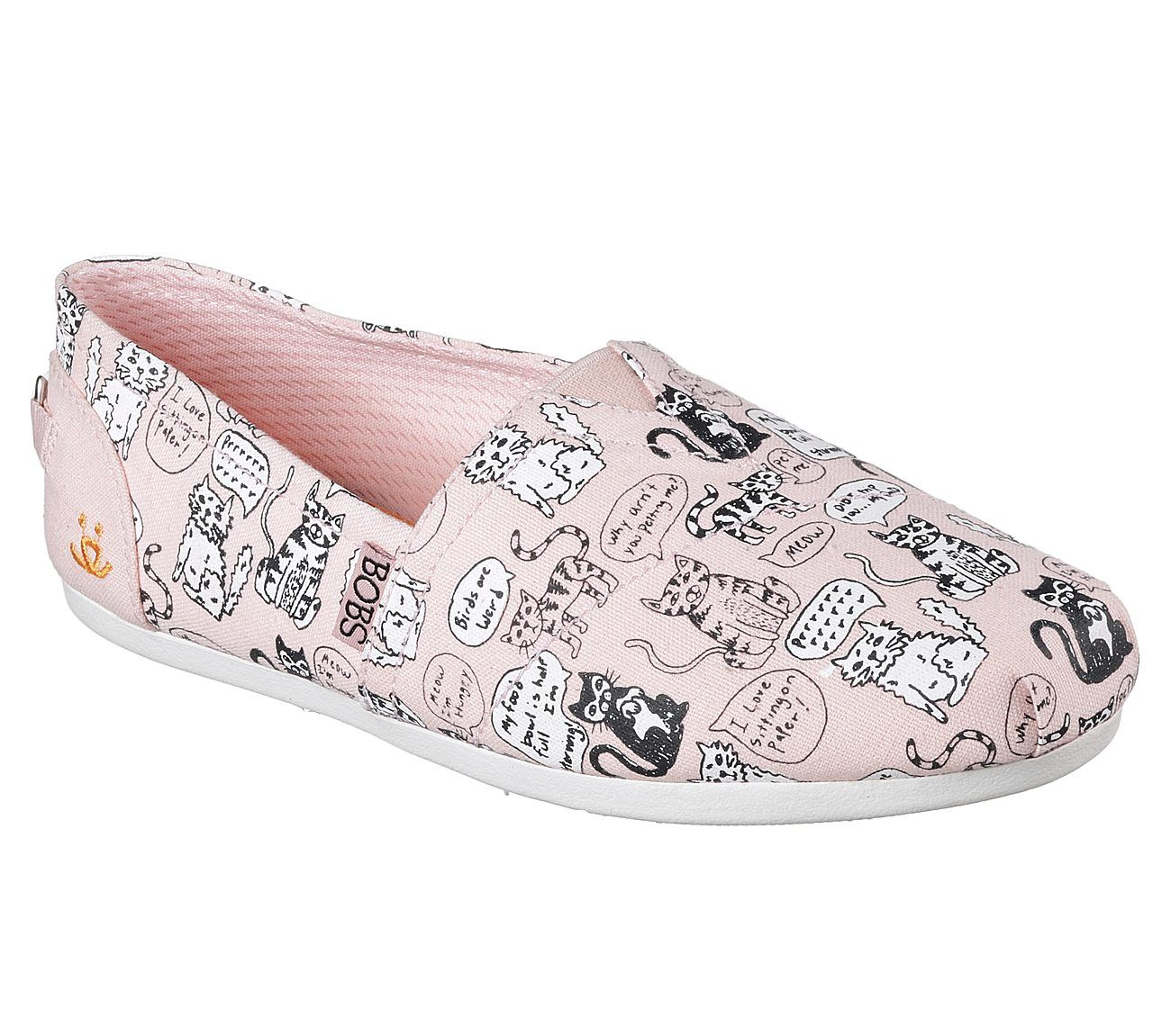 0423c6688d3 Cats get their say in fun style and comfort with the Skechers BOBS for Cats  Bobs