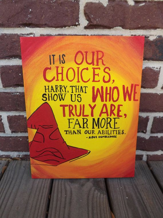 Quote Canvas: Perfect Canvas for the Harry Potter fanatic!