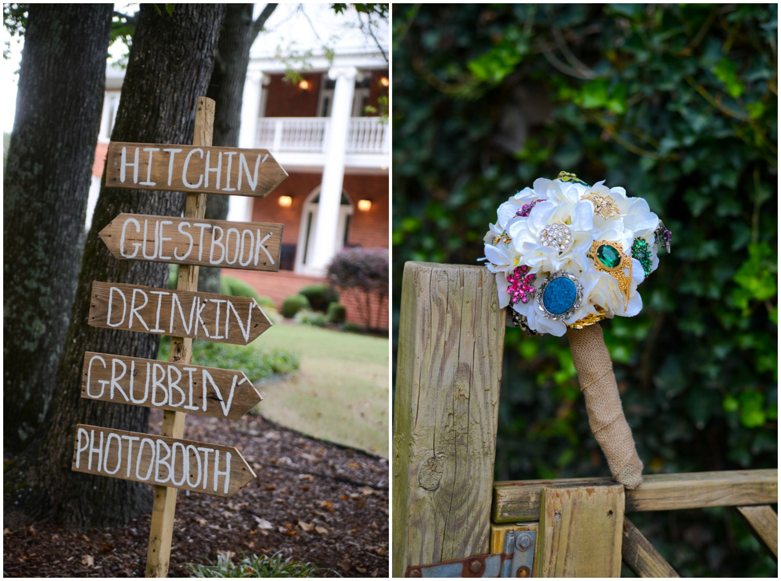 Southern Farm Wedding In Alabama | Rustic wedding flowers ...