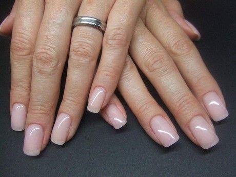 Gelnagel Ohne Farbe Nageldesign Pinterest Nails Gel Nails Und
