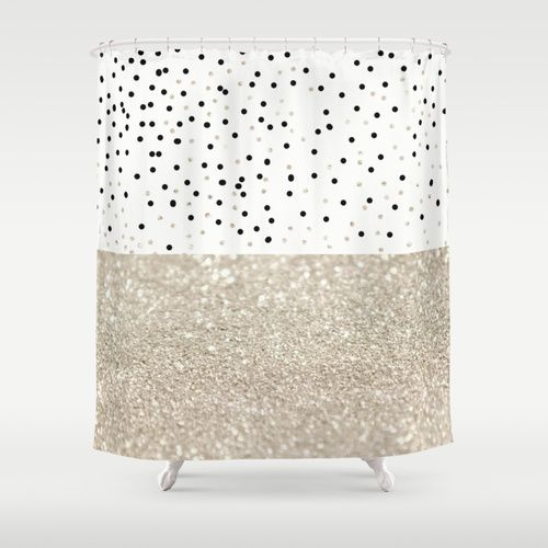 FIRST DATE NUDE  Shower Curtain