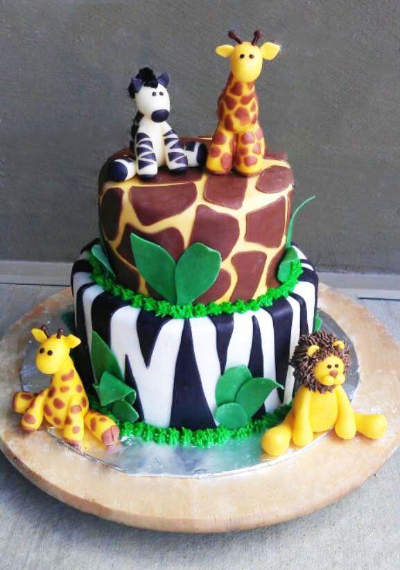 Gallery Boy Birthday Cake Safari Cakes Themed Cakes