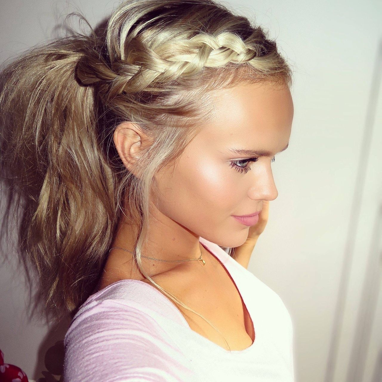 hair styles for toddlers high ponytail braid www pixshark images 2278
