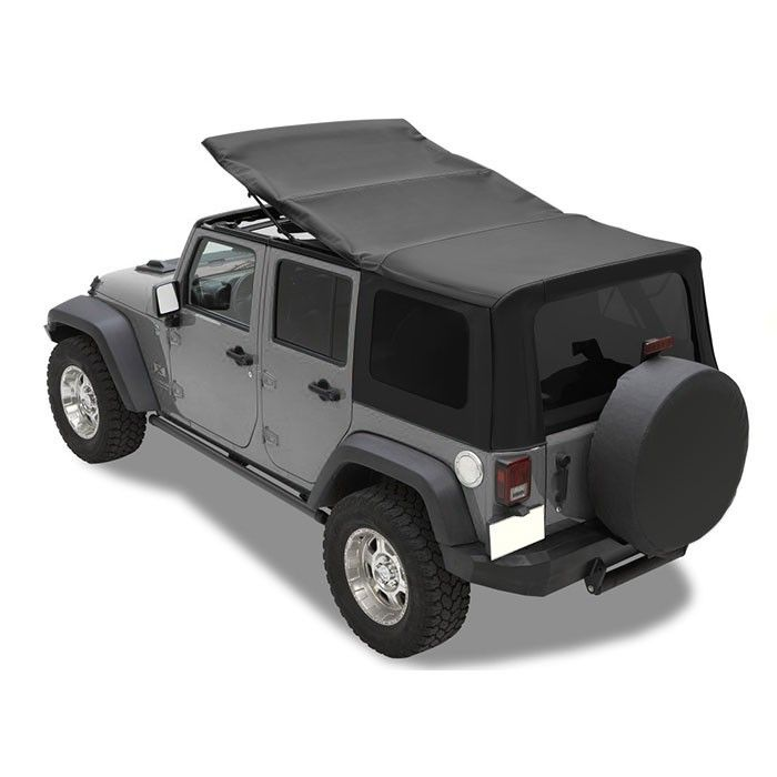 Mopar Sunrider Design Soft Top Kit Black Premium Acrylic Fabric Best Prices Reviews At Morris 4x4 Jeep Wrangler Tops Jeep Wrangler Unlimited Jeep Wrangler