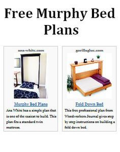 Free murphy bed plans image for my craft room sewing room free murphy bed plans image for my craft room solutioingenieria Choice Image