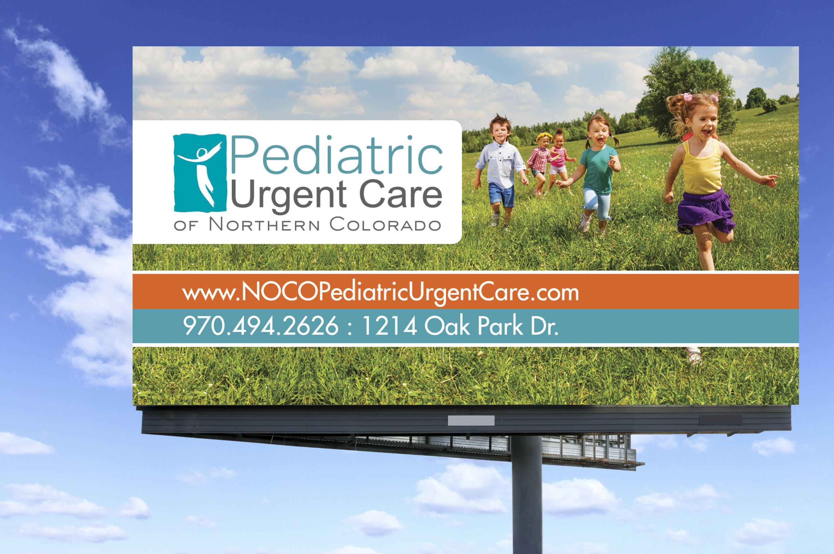 Pediatric Urgent Care Billboard, Billboard Design | Billboards
