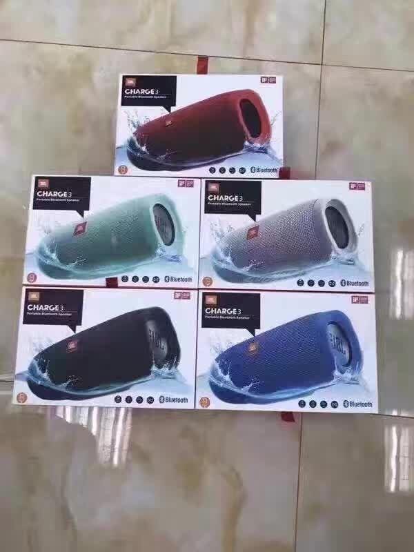 JBL Charge 3 Waterproof Portable Bluetooth Speaker All 5