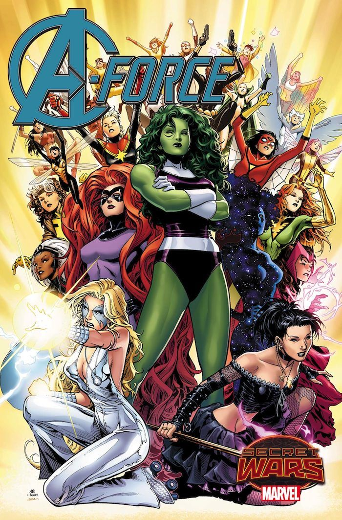 Everything You Need To Know About A Force Marvel S New Female Superhero Team Female Avengers Female Superhero Superhero Team