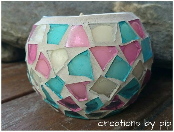 Check out this item in my Etsy shop https://www.etsy.com/listing/214912107/pink-blue-mosaic-soy-wax-candle-cinnamon