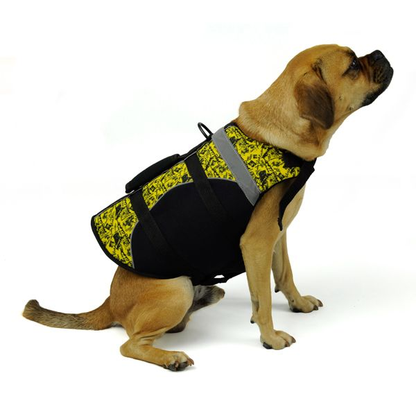 Dog Life Vest By Body Glove Yellow Dog Life Vest Dogs Dog Life