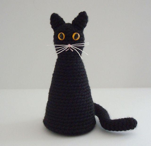 Halloween Black Cat - Free Amigurumi Pattern - PDF File click ...