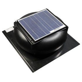 Honeywell 12 Watt Roof Mount Attic Fan Vent 181 78 Solar Powered Attic Fan Solar Power Ventilation Fans