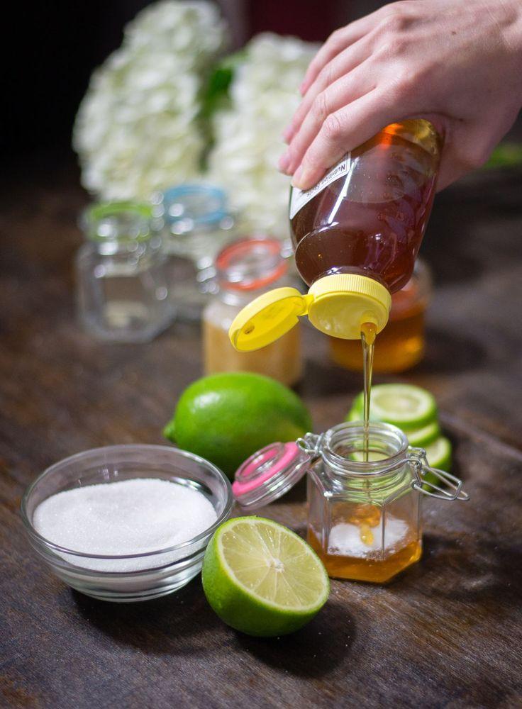 Diy honey and lime sugar lip scrub elisabeth mcknight