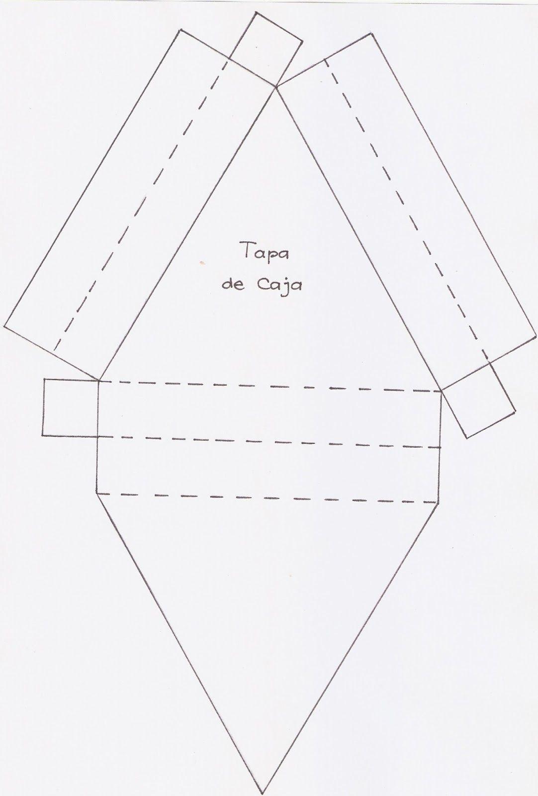 Cajas con forma de Porción de Tarta..
