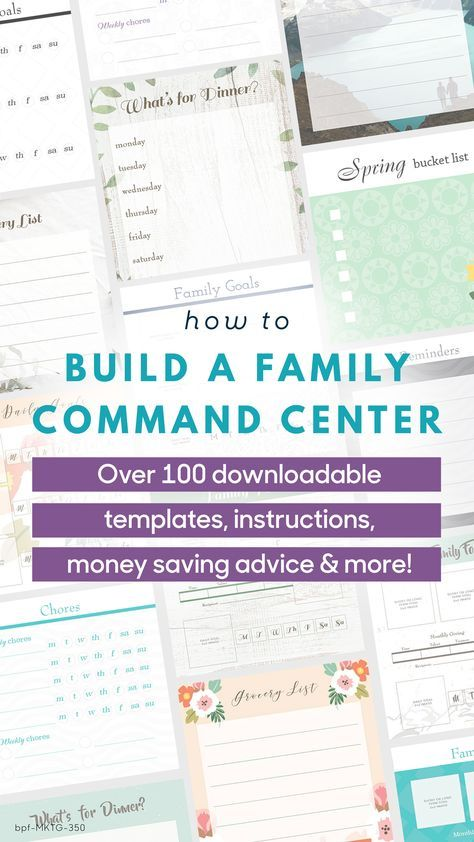 Calling All DIYers! Building Your Own Family Command Center Has Never Been  Easier! Access