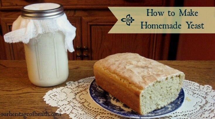 How to Make Homemade Yeast | How to make homemade, Bakers ...