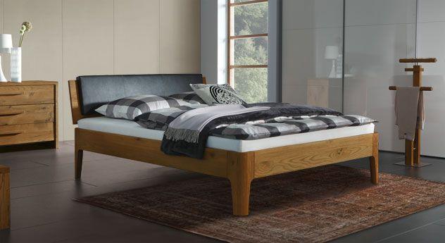 Bett  - schlafzimmer eiche